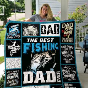 Fishing Quilt Blanket