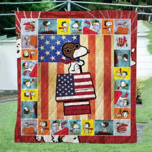 Snoopy Quilt Blanket For Fans
