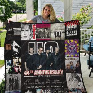Bl – U2 Quilt Blanket
