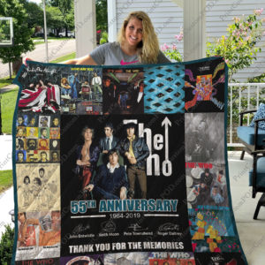 Bl – The Who Quilt Blanket