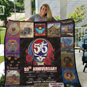 Bl – Grateful Dead Quilt Blanket