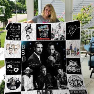 H – Backstreet Boys Quilt Blanket For Fan