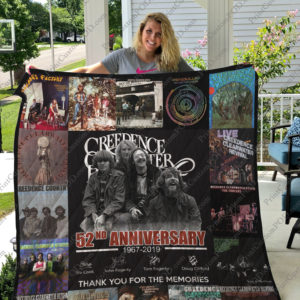 Bl – Creedence Clearwater Revival Quilt Blanket