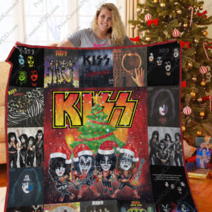 Bl – Kiss Band Quilt Blanket