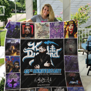Bl – King Diamond Quilt Blanket