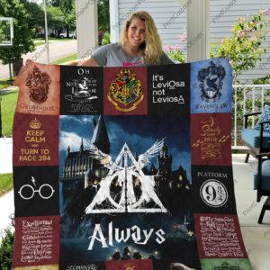 Harry Potter Quilt Blanket 05