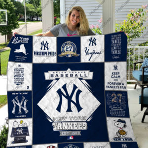 New York Yankees 17 Quilt Blanket