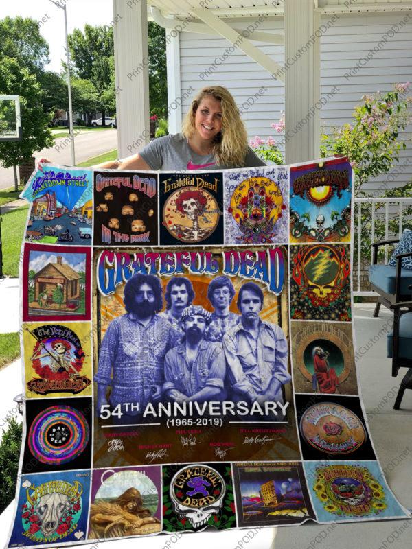Greatful Dead Quilt Blanket