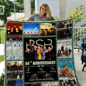 Backstreet Boys Quilt Blanket 01