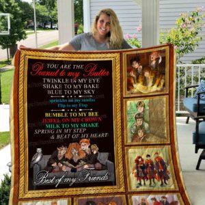Friend – Harry Potter Quilt Blanket 01