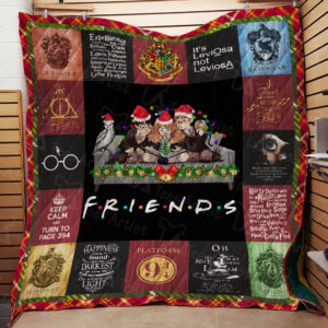 Friends Harry Potter Quilt Blanket