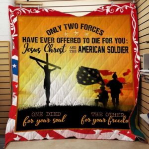 Jesus Give Us The Hope Quilt Blanket