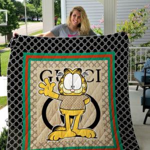 Gucci Garfield Fashion Quilt Blanket