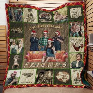 Letterkenny Friends Quilt Blanket