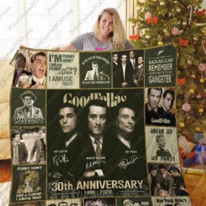 Mofi – Goodfellas Christmas Quilt Blanket