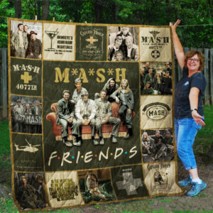 M*A*S*H And Friends Quilt Blanket