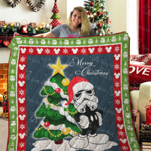 Star Wars And Mickey Quilt Blanket