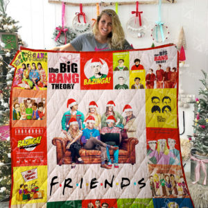 The Big Bang Theory And Friends Tv Show Quilt Blanket Great Customized Blanket Gifts For Birthday Christmas Thanksgiving