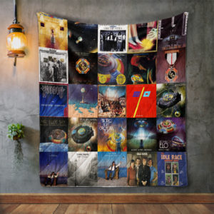 Electric Light Orchestra Style 2 Quilt Blanket