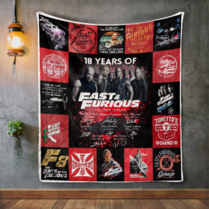 Fast &Amp; Farious Quilt Blanket