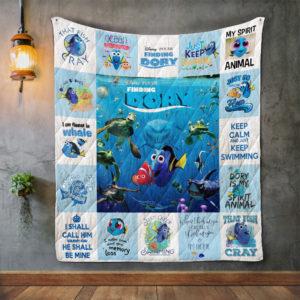 Finding Dory_2 Quilt Blanket