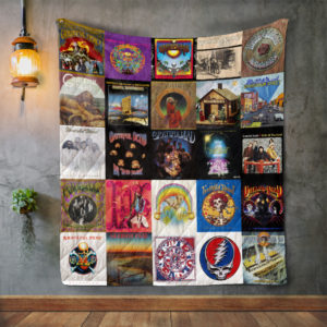 Grateful Dead Style 2 Quilt Blanket