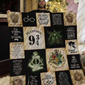 [Pe] Harry Potter T-Shirt Quilt Blanket