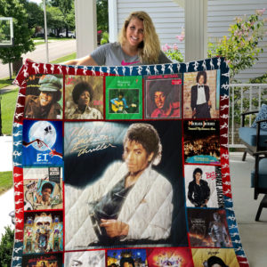 Michael Jackson Style 2 Quilt Blanket