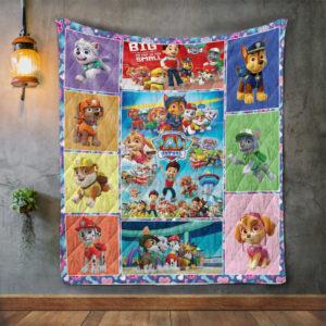 Paw Patrol Quilt Blanket