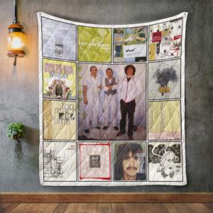 Wheat Album Covers Quilt Blanket