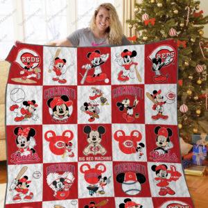H – Cincinnati Reds Dn Quilt Blanket