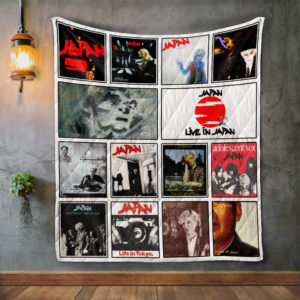 Japan Album Covers Quilt Blanket