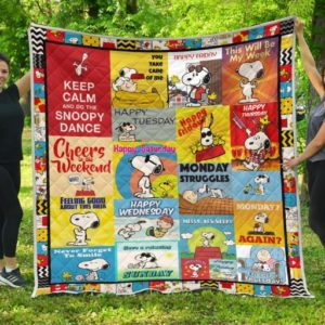 Ll – Snoopy Quilt Blanket