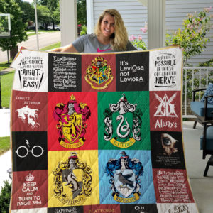 Harry Potter Quilt Blanket