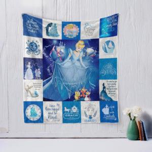 Cinderella (2015) Quilt Blanket