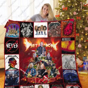 Tlmus – Metallica Christmas Tree Quilt Blanket