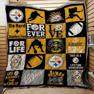 Pittsburgh Steelers 02 Quilt Blanket
