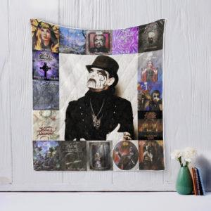 King Diamond 2 Quilt Blanket