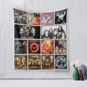 Napalm Death Quilt Blanket
