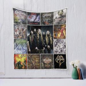 Obituary Quilt Blanket