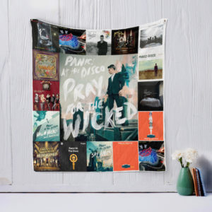 Panic! At The Disco Style 2 Quilt Blanket