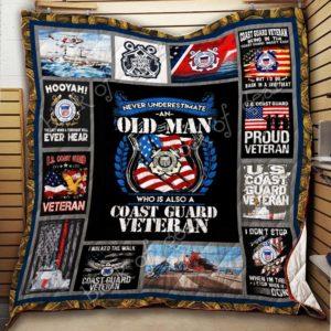Bc – Coast Guard Veteran Quilt Blanket