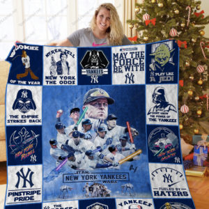 New York Yankees+Starwars Quilt Blanket Ver 17