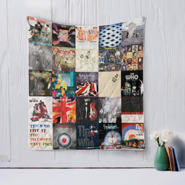 The Who Style 2 Quilt Blanket