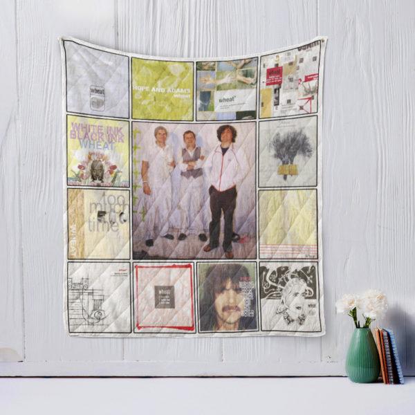 Wheat Quilt Blanket