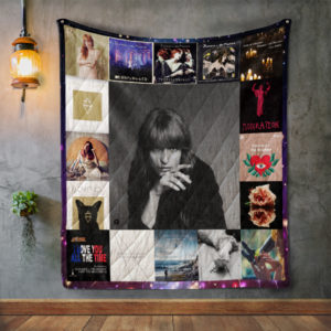 Florence + The Machine Album Covers Quilt Blanket