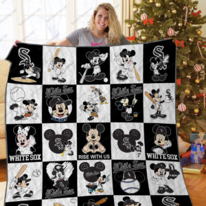 H – Chicago White Sox+Mickey Quilt Blanket