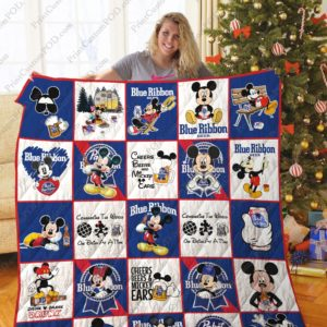 Tlmus – Mikey Pabst Blue Ribbon Quilt Blanket