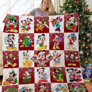 Ta – Mickey Christmas Quilt Blanket