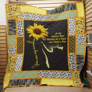 Bc – You Are My Sunshine – Cat Quilt Blanket